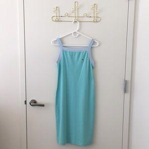 Lacoste Teal Blue Summer Dress
